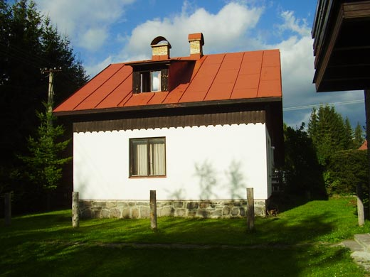 Chata Donovaly - pohľad z boku