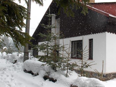 Chata Donovaly v zime